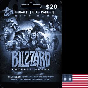 Blizzard Battlenet USA USD 20
