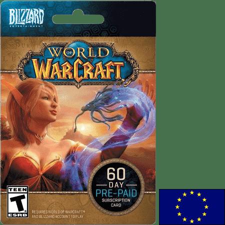 Blizzard World of Warcraft EU 60 Day