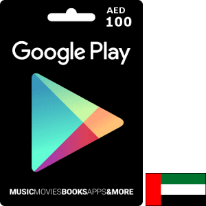 Google Play UAE AED 100