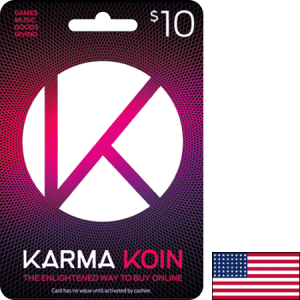 Karma Koin USA USD 10