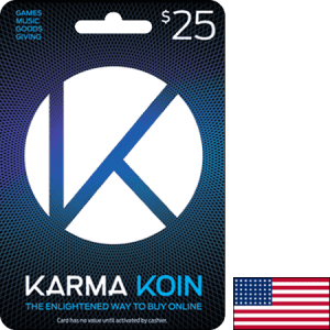 Karma Koin USA USD 25