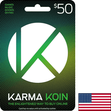 Karma Koin USA USD 50