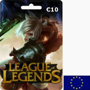 League of Legends EUR 10