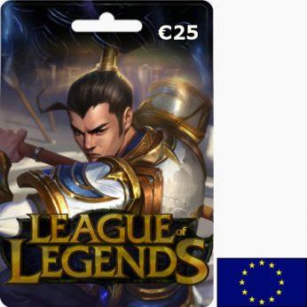 League of Legends EUR 25