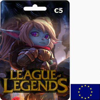 League of Legends EUR 5