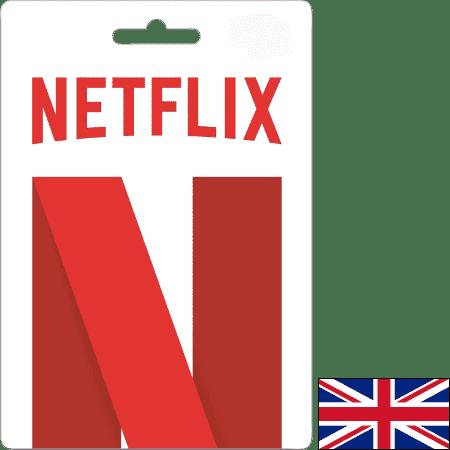 Netflix UK GBP 25