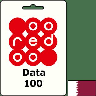 Ooredoo Qatar Data QAR 100