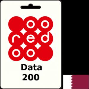 Ooredoo Qatar Data QAR 200