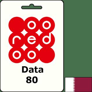 Ooredoo Qatar Data QAR 80