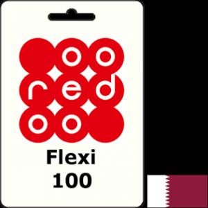 Ooredoo Qatar Flexi QAR 100