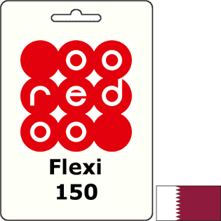 Ooredoo Qatar Flexi QAR 150