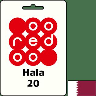 Ooredoo Qatar Hala QAR 20