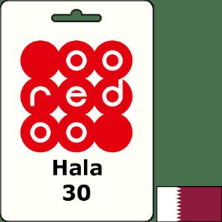 Ooredoo Qatar Hala QAR 30