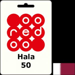 Ooredoo Qatar Hala QAR 50