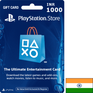 PlayStation IND INR 1000