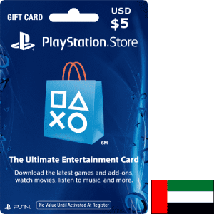 PlayStation UAE USD 5