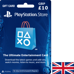 PlayStation UK GBP 10