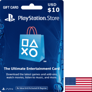 PlayStation USA USD 10