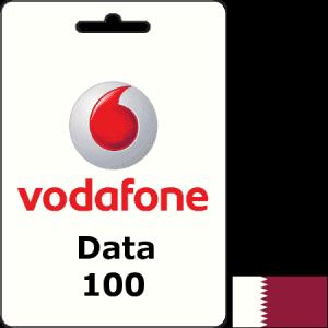 Vodafone Qatar Data QAR 100