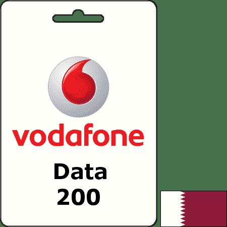 Vodafone Qatar Data QAR 200