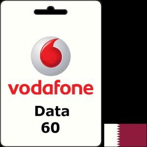 Vodafone Qatar Data QAR 60