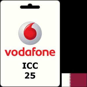 Vodafone Qatar ICC QAR 25
