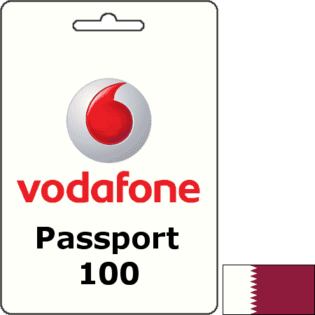 Vodafone Qatar Passport QAR 100