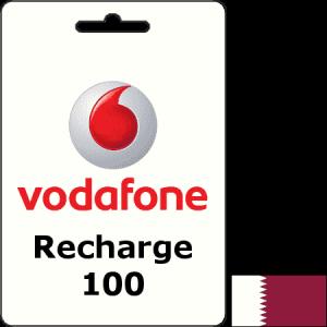 Vodafone Qatar Recharge QAR 100