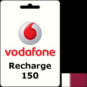 Vodafone Qatar Recharge QAR 150