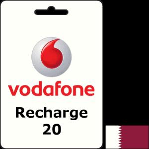Vodafone Qatar Recharge QAR 20