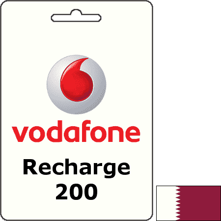 Vodafone Qatar Recharge QAR 200