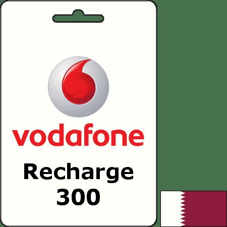 Vodafone Qatar Recharge QAR 300