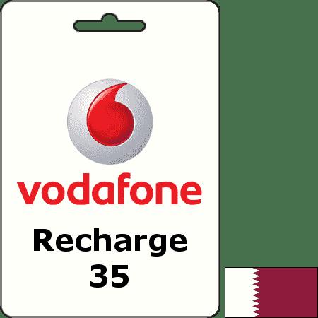 Vodafone Qatar Recharge QAR 35