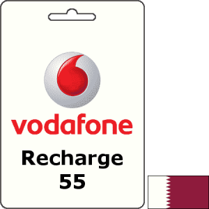 Vodafone Qatar Recharge QAR 55