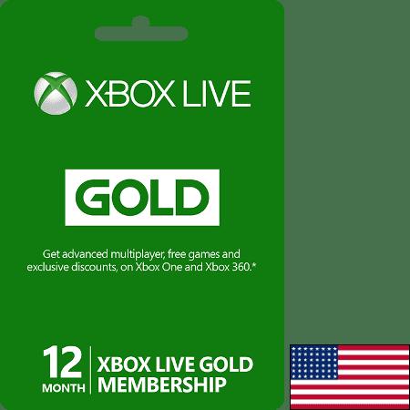Xbox USA 12M