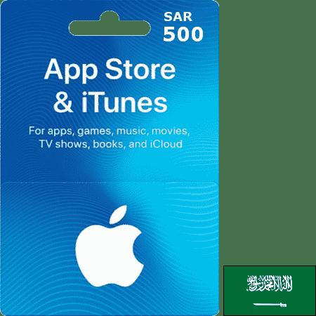 iTunes KSA SAR 500