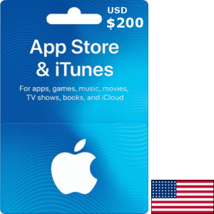 iTunes USA USD 200